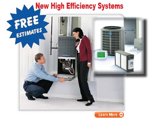 new air conditioning system and discount coupons